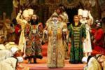 In St. Petersburg hosted the screenings of `Boris Godunov`